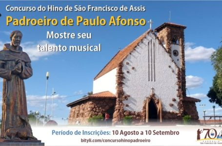 Paróquia São Francisco de Assis, em Paulo Afonso (BA), lança concurso para composição do Hino do Padroeiro